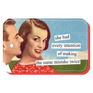 Anne Taintor   Same Mistake Twice Key Ring : Key Tags And Chains : Office Products