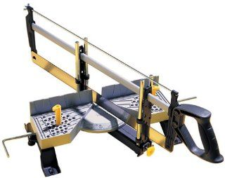 Stanley 20 800 Contractor Grade Clamping Mitre Box   Miter Box With Saw