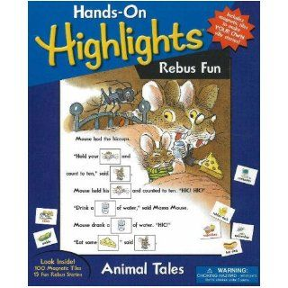 Animal Rebus Fun: A Magnetic Story Maker (Hands on Highlights!) (9780824915018): Inc. Highlights for Children: Books