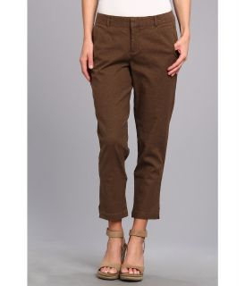 Dockers Misses Coastal Crop Womens Casual Pants (Taupe)
