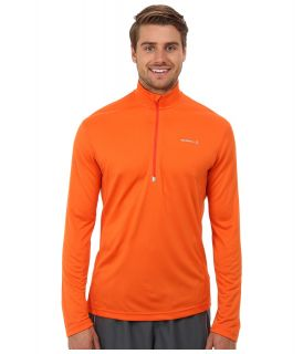 Merrell Morpheous Half Zip Mens Long Sleeve Pullover (Orange)