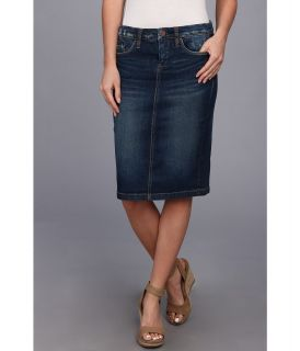 Blank NYC Faithful Pencil Skirt in Fresh To Death Womens Skirt (Blue)
