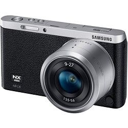 Samsung NX Mini Mirrorless Digital Camera with 9 27mm Lens and Flash   Black