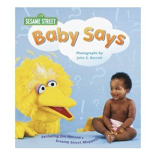 Baby Says (Sesame Street Baby Photo Board Books): Stephanie St. Pierre: 9780679893462:  Children's Books