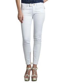 Womens Julie Skinny Jeans, White   Rachel Zoe   White (24)