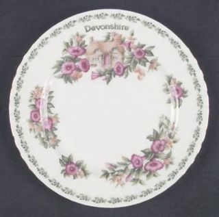 Royal Albert English Country Cottages Salad Plate, Fine China Dinnerware   Vario