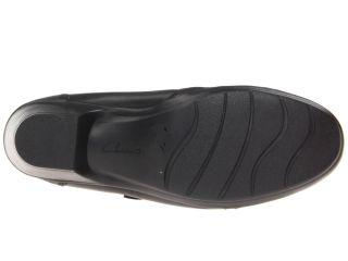Clarks Ingalls Ocean Black Leather