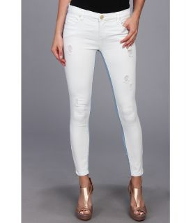 Blank NYC Intro Two Tone Crop Skinny in Blue/White Womens Casual Pants (Blue)