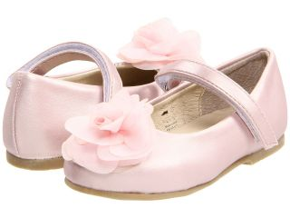 Pazitos Silk Rose MJ PU Girls Shoes (Pink)