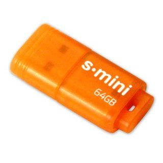 Patriot 64GB Supersonic Mini Series USB 3.0 Flash Drive (Orange) With Up To 80MB/sec   PSF64GSMUSB: Computers & Accessories
