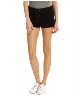Juicy Couture Original Terry Short Womens Shorts (Black)