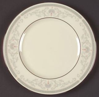 Lenox China Mt. Vernon Salad Plate, Fine China Dinnerware   Presidential,Gray Sc