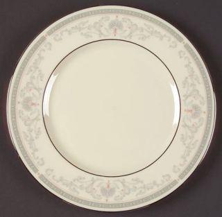 Lenox China Mt. Vernon Salad Plate, Fine China Dinnerware   Presidential,Gray Sc