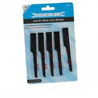 Silverline Air Body Saw Blades 5pk Blades   Reciprocating Saw Blades