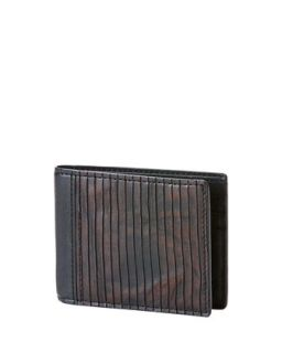 Mens James Veg Cut Wallet, Brown   Frye   Dark brown