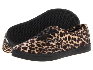 Vans Authentic Lo Pro Tan/Black) Skate Shoes (Multi)