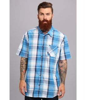Rip Curl Paloma S/S Shirt Mens Short Sleeve Button Up (Blue)