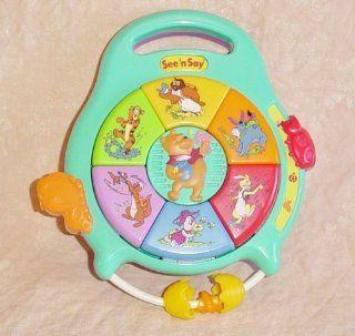 Disney Winnie the Pooh, See N Say Toy Toys & Games