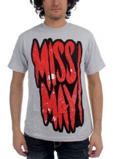 Miss May I   Mens Say Prayers T shirt in Grey: Music Fan T Shirts: Clothing