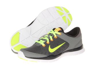 Nike Flex Trainer 3 Medium Base Grey Black Atomic Orange Volt