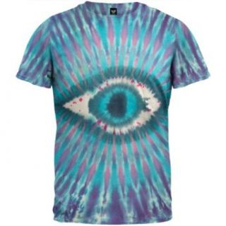 Seeing Eye Design S/S Tie Dye   X Large: Clothing