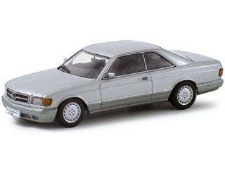 Mercedes 500 SEC W126 Silver Metallic 1/43 Autoart Diecast Car Model 56212 Toys & Games