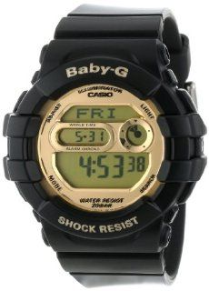 Casio Unisex BGD141 1 Baby G Black and Gold Watch: Casio: Watches