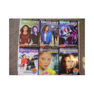 Twitches, Set of Six Books (twitches, volume 1 6, v1, The power of two, v2, building a mystery, v3, seeing is deceiving, v4, dead wrong, v5, don't think twice, v6, double jeopardy): h.b.gilmour and randi reisfeld: Books