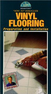 Vinyl Flooring: Preparation and Installation   How to Video Guide w/ Project Guide (As Seen on PBS Series) [VHS]: Dean Johnson: Movies & TV