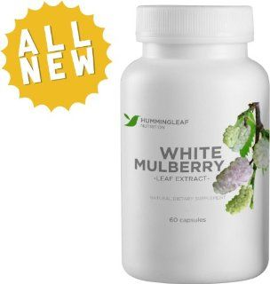 White Mulberry Leaf Extract Pure 500mg for Weight Loss As Seen on Dr Oz   With Garcinia Cambogia, Green Coffee Bean, Cinnamon and African Mango Extract for Maximum Potency   All Natural Fat Buster and Dietary Supplement with No Side Effects   No Fillers or