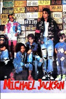 Michael Jackson kids & license plates POSTER 21 x 31 inches (poster sent from USA in PVC pipe) : Prints : Everything Else