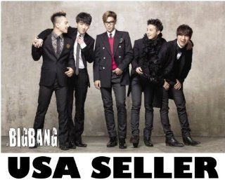 Bigbang standing & joking horiz POSTER 34 x 23.5 Top G Dragon Tae Yang Korean boy band Big Bang T.O.P. (sent from USA in PVC pipe) : Prints : Everything Else