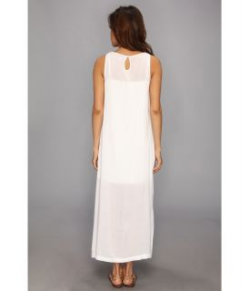 525 america Kaftan Dress with Slip Bleach White