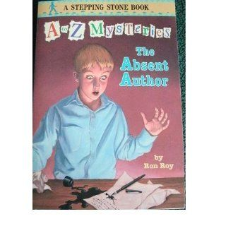 The Absent Author (A to Z Mysteries): Ron Roy, John Steven Gurney: 9780679881681:  Children's Books