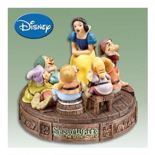 Collectible Disney Snow White And The Seven Dwarfs Pin Box: Disney Jewelry Box by The Bradford Exchange