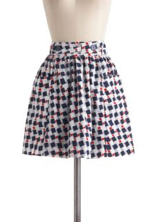 Tulle Clothing In Ship Shape Skirt  Mod Retro Vintage Skirts