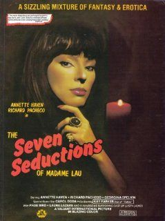 The Seven Seductions of Madame Lau Movie Poster (11 x 17 Inches   28cm x 44cm) (1982) Style A  (Annette Haven)(Richard Pacheco)(Georgina Spelvin)(Carol Doda)(Kay Parker)(Phae Bird)   Prints
