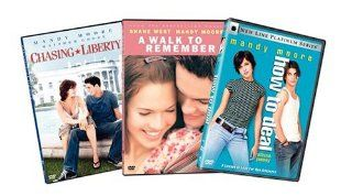 Mandy Moore 3 Pack (Chasing Liberty / A Walk to Remember / How to Deal): Mandy Moore, Shane West, Matthew Goode, Mark Harmon, Trent Ford, Dylan Baker, Peter Coyote, Daryl Hannah, Lauren German, Clayne Crawford, Al Thompson, Paz de la Huerta, Adam Shankman,
