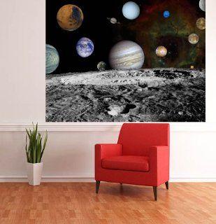 ART FEVER Nasa Weltraum Bild Solar System Foto Tapete Wand Wandbild Kinder Tapete: Küche & Haushalt