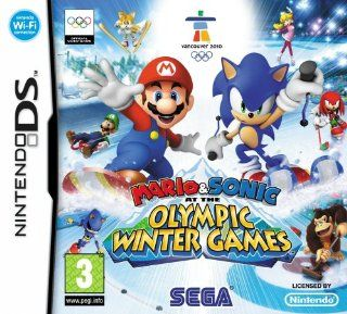 Mario & Sonic at the Olympic Winter Games [Pegi]: Games