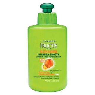 Garnier Fructis Sleek & Shine Intensely Smooth Leave In Conditioning Cream For