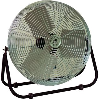 TPI Industrial Floor Fan — 18in., 1/8 HP, 4600 CFM, Model# F-18-TE  Floor Fans