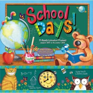 School Days 17 Month 2016 Calendar/Planner