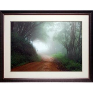 North American Art 'Road to Nowhere' by Mike Jones Framed Photographic Print