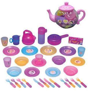 Disney Princess Big Teapot Dish Set   Toys & Games   Dolls