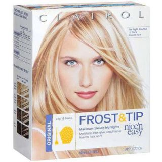Clairol Nice 'n Easy Frost & Tip Hair Highlights Creme Kit