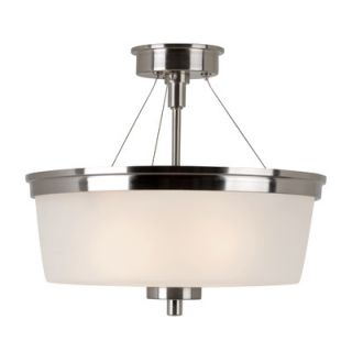 TransGlobe Lighting Urban Swag 2 Light Semi Flush Mount