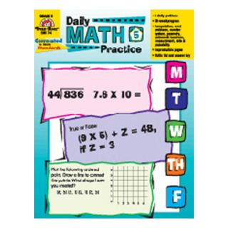 Daily Math Practice Grade 5 Book
