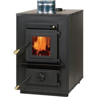 England Stove Works Wood-Burning Furnace — 120,000 BTU, EPA Exempt, Model# 50-SHW35  Wood Stoves