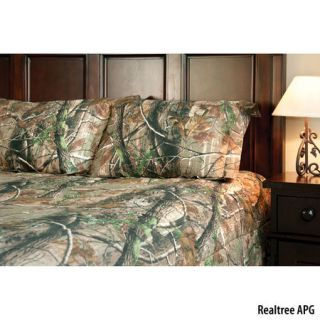 Birchwood Trading Realtree APG Camo Twin Comforter Set 754354